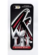ATLANTA FALCONS NFL SUPER BOWL 51 PHONE CASE COVER FOR iPHONE 7 6 PLUS 5... - $14.97