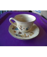 Franciscan cup and saucer (Bouquet) 4 available - $2.48