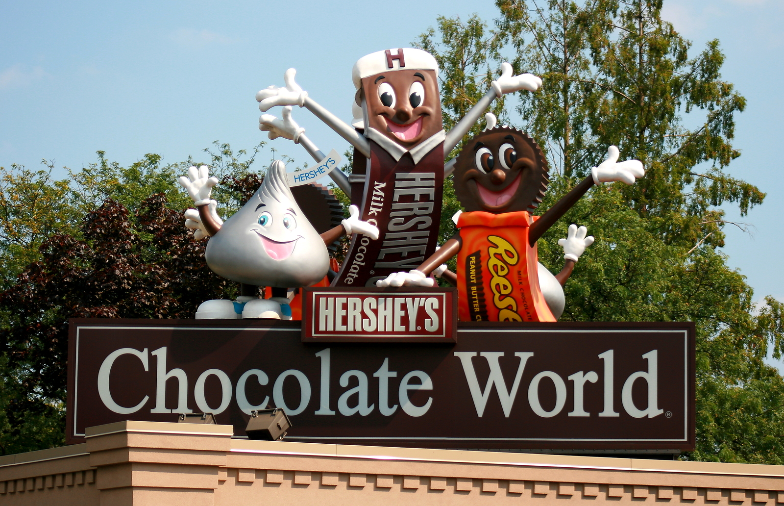 Primary image for Chocolate World In Hershey , Pa. 13 x 19 Unmatted Photograph.