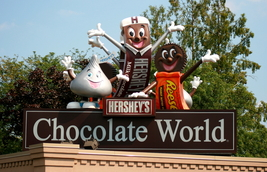 Chocolate World In Hershey , Pa. 13 x 19 Unmatted Photograph. - $35.00