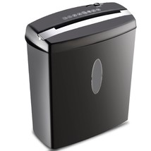 Cross-Cut Paper Shredder Machine with Basket - $56.99