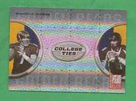 2005 Donruss Elite College Ties Kyle Boller - Aaron Rodgers - $20.00