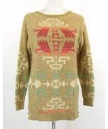 RALPH LAUREN Size M Southwest Aztec Cotton Blend Sweater - $79.99