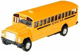 Toysmith Pull-Back School Bus 5-Inch - $8.61