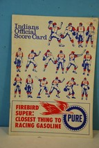 1967 Cleveland Indians Official Baseball Scorecard - Scored in Pencil - $13.85