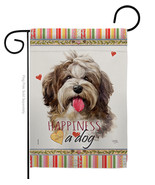 Havanese Cuban Happiness - Impressions Decorative Garden Flag G160239-BO - $19.97