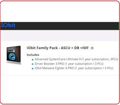 IObit Macbooster Premium 1 Yr 3 PC speed up and fine tune your OS X Macintosh