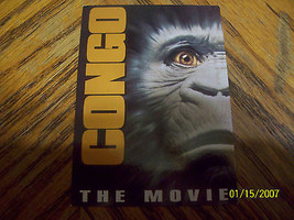 CONGO THE MOVIE PROMO TRADING CARD #2 image 1