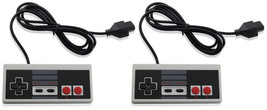 2 X Wired Controller For NES-004 Original Nintendo NES Vintage Console G... - $19.99