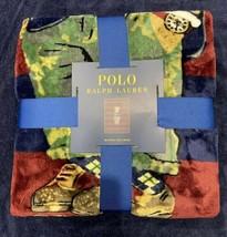 NWT - Polo Ralph Lauren Sweatshirts Polo Bear Throw Blanket 50x70 Navy - $88.85