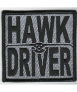 USN NAVY E-2C HAWK DRIVER HUMMER GRUMMAN TRACER BLACK EMBROIDERED PATCH - $23.74