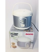 Sanyo ECJ-N55W 5.5-Cup Rice Cooker & Steamer w/ Variable Temperature Control - $81.42