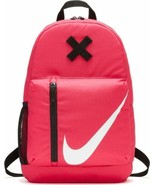 Nike Elemental Sports Backpack Rucksack Girls Ladies Bag  BA5405-622 - Rush Pink - $29.78