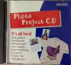 HP Photo Project CD-ROM V1.0, software For Windows 95 - $5.67