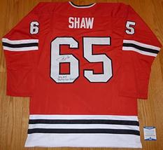 """Beckett-BAS Andrew Shaw Inscribed""""2013, 2015 Stanley Cup Champions"""" Auto... - $84.99"""