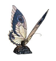 "Meyda Tiffany 48016 Butterfly Accent Lamp, 15"" Height - $171.00"