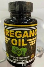 New Oregano Oil Softgels 90 150mg Natural Antibiotic for Infection infla... - $24.70