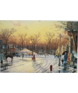 "Town Square Archive Collection 6"" x 4""  Promo Ad card by THOMAS KINKADE - $5.95"