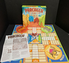 Parcheesi The Classic Game of India Board Game 2001 Complete Milton Bradley - $37.39