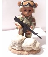 Defenders of Liberty Bear figure collectible Army Bear - $9.50