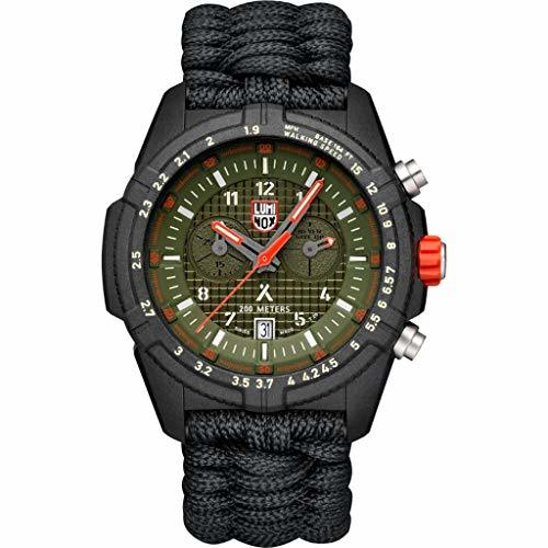 Luminox Limited Edition Bear Grylls 3798 Wrist Watch | Black/Green