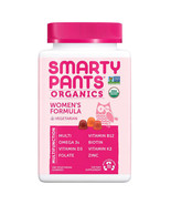 NEW SmartyPants USDA Organic Women's Formula Multivitamin **FREE SHIPPING** - $37.99