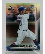 2019 Topps Bowman Platinum Pete Alonso #20 Rookie RC New York Mets NM - $9.87