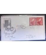 United Nations.  4 Cent Airmail. May 27, 1957 - $2.77