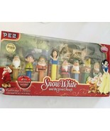 PEZ Disney Snow White And The Seven Dwarfs Collectors Series New in box  - $17.09