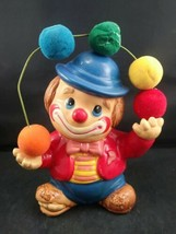 Collectible Vintage Enesco 1981 Juggling Circus HOBO Clown Coin/Money Pi... - $10.49