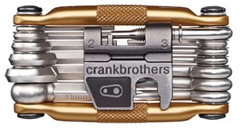 Crank Brothers Multi Bicycle Tool 19-Function, Gold - $35.87