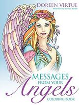 Messages from Your Angels Coloring Book [Paperback] Virtue, Doreen and B... - $31.68