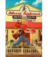 POSTCARD-12' TALL JOHNNY APPLESEED AT CORPORATE OFFICE IN FREDERICKSBURG... - $2.94