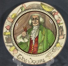 The Squire D6284 Collector Plate The Professionals Royal Doulton Series Ware image 1