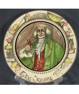 The Squire D6284 Collector Plate The Professionals Royal Doulton Series ... - $47.95