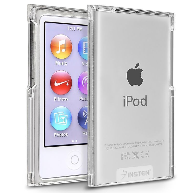 Clear Crystal Transparent Hard Snap-On Case Skin Cover for iPod Nano 7th Gen 7G