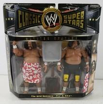 The Wild Samoana AFA & Sika WWE Jakks 2005 Classic Superstars Limited Edition - $120.63