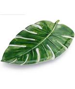 """Palm Frond Monstera Leaf Melamine Serving Dish 15"""" Long Sur La Table - $13.95"""