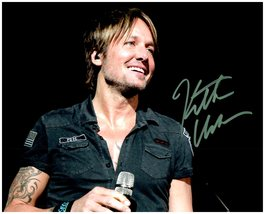 KEITH URBAN SIGNED AUTOGRAPHED 8X10 PHOTO w/ Certificate of Authenticity 5731 - $145.00