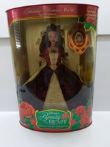 Disney Holiday Princess Belle Beauty And The Beast Christmas 1997 #16710 Mattel - $29.69