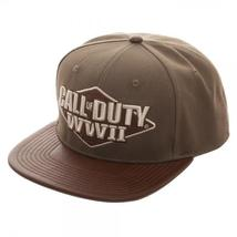 Call of Duty: World War II 3D Embroidered Snapback Cap - $22.97