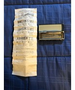 Vintage Hohner Pocket Pal Harmonica in Box with Instructions - $7.56