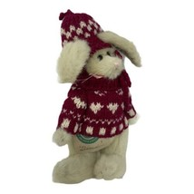 """Boyds Bears Archive Collection DIANA Plush Beige Bunny Rabbit 8"""" in Hat ... - $9.99"""