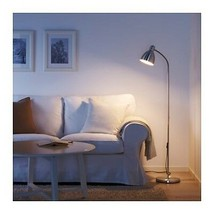 IKEA LERSTA Floor/reading adjustable lamp, aluminum - $44.55