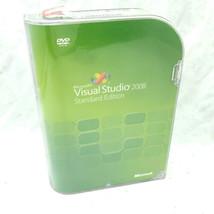 Microsoft Visual Studio 2008 Standard Edition w/Case Genuine OEM - Tested - $39.59