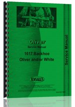 Oliver 4-78 Backhoe Attachment Service Manual (4-78) [Plastic Comb] [Jan... - $37.51