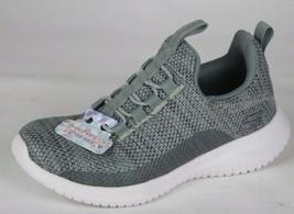 Skechers Jugend Mädchen Schuhe Sneaker Grau ohne Bügel Größe 10.5 image 1