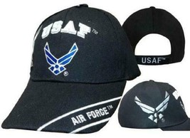 U.S. Air Force Hat USAF Wings Shadow Stripe Embroidered Cap  - $21.77