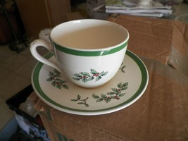 Spode s-3324 Christmas tree cup and saucer 4 available - $8.86