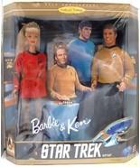 Mattel Barbie Doll Star Trek Gift Set Ken American Comic Movies - $252.95